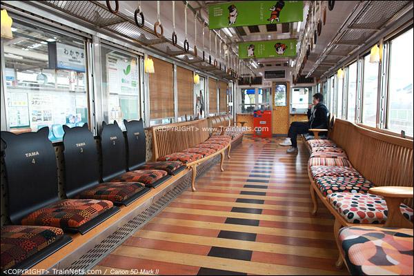 """""""阿玉电车"""",一号车厢全貌。(IMG-4076-120130)"""