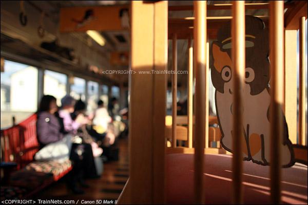 """""""阿玉电车""""二号车厢。车里的""""猫笼""""。(IMG-4182-120130)"""
