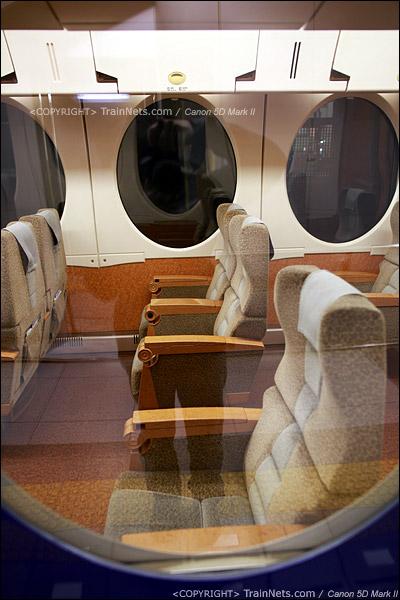 关西机场。Rapi:t特急。一等车2+1坐席。(IMG-4530-120130)