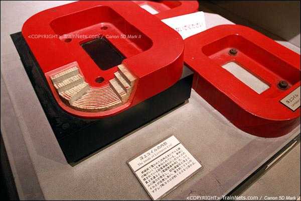 第一展厅,磁悬浮列车,磁铁结构随你看。(IMG-5095-120131)