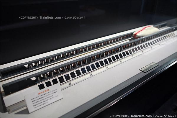 第一展厅,磁悬浮列车,运作原理模型。(IMG-5126-120131)