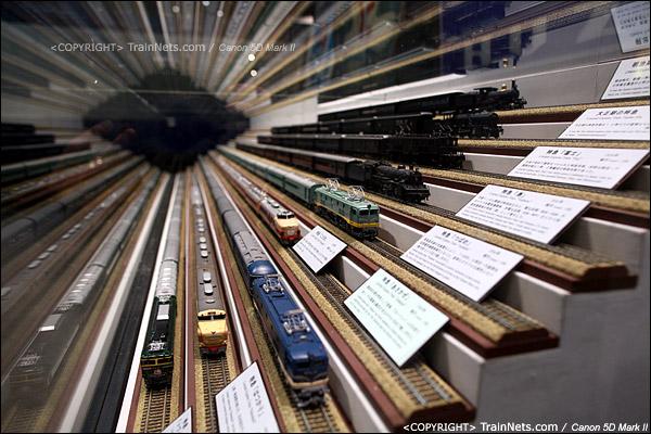 第三展厅。各种经典列车的模型。(IMG-5198-120131)