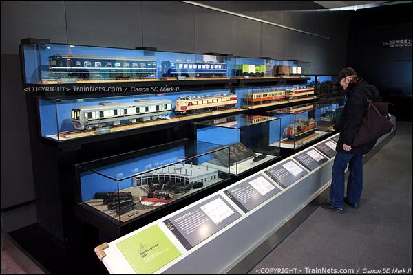 第三展厅。各种经典列车的模型。(IMG-5204-120131)