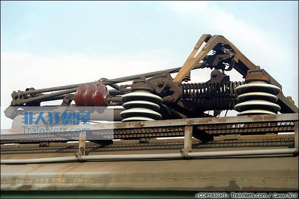 SS1车顶受电弓(P0110)