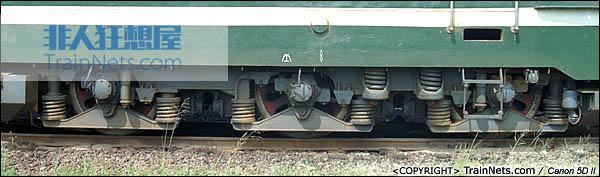 SS1转向架细节。(P0507)
