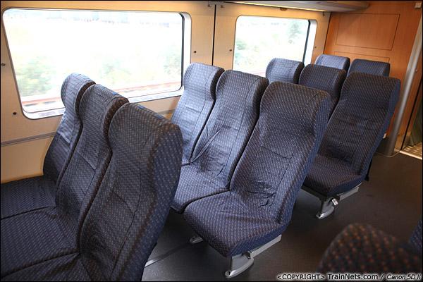 2013年12月17日。D2316次, CRH1型列车二等座。(IMG-5297-131218)
