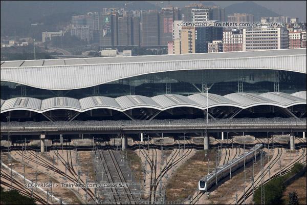 2013年12月3日。深圳北站。(IMG-9581-131203)