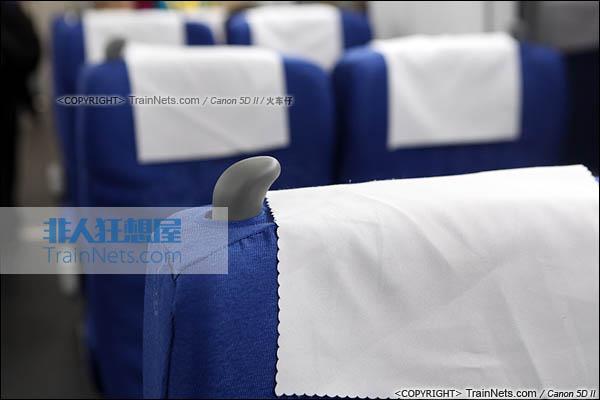 2014年4月21日。CRH380D。二等座座椅。(IMG-4466-140421/火车仔)