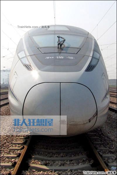 CRH380D-6602在广州动车段。(图/清风亭)