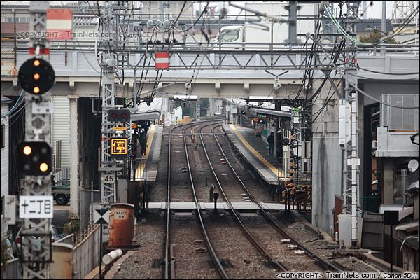 2012年2月1日。日本京阪本线。(IMG-5780-120201)