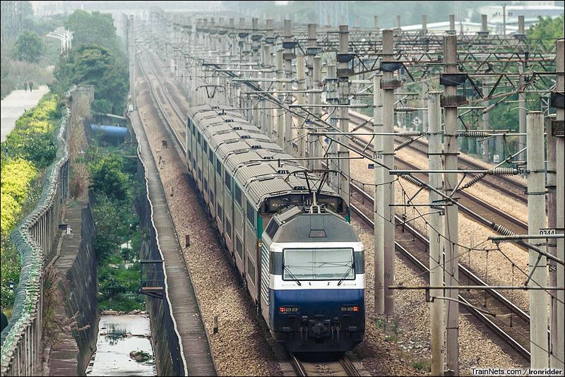 2013年2月16日。KTT执行广九直通车。