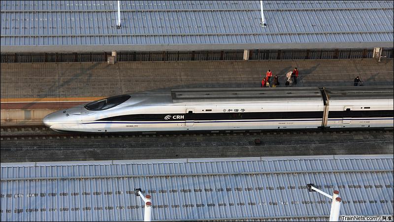2015年2月10日。广州北站。G72次,深圳北-北京西。