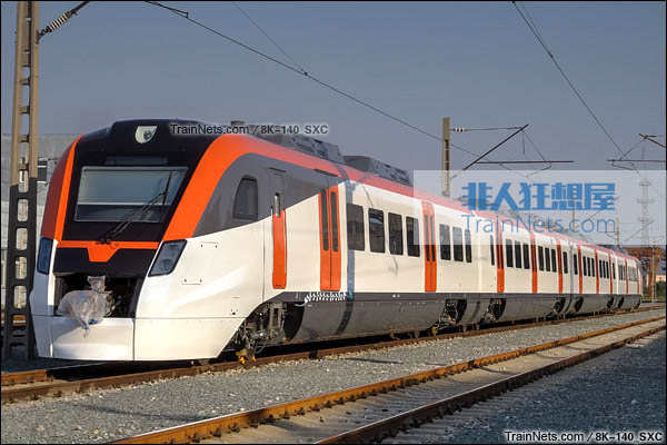 2015年5月。北京环形铁道。CRH3F型动车组。(图/8K-140_SXC)