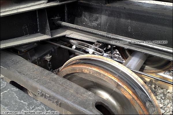 2014年2月11日。GY95SK型罐车。转K2型转向架。(IMG-0068-140211/火车仔)