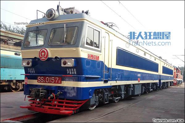 2015年5月。配属太局候段的SS4型电力机车。(图/K36)