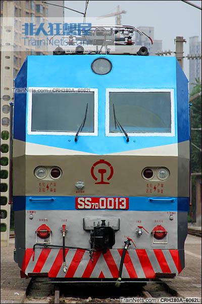 SS7D型电力机车。(图/CRH380A-6062L)