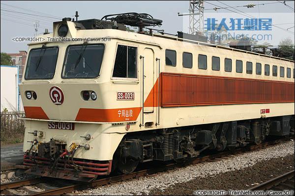 2013年12月。广西南宁。配属宁局邕段的SS7型电力机车。(IMG-5604-131221)