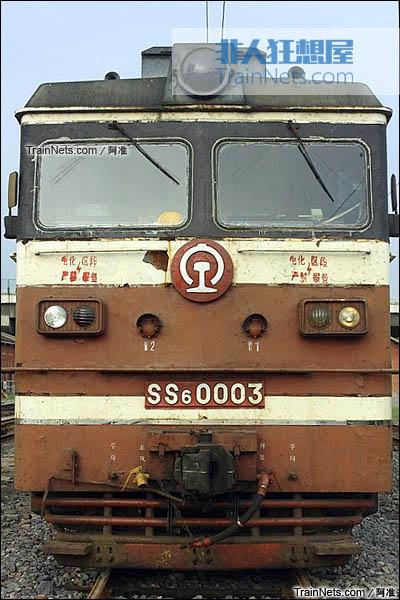 2011年9月。长治北机务段。SS6型电力机车。(图/阿准)