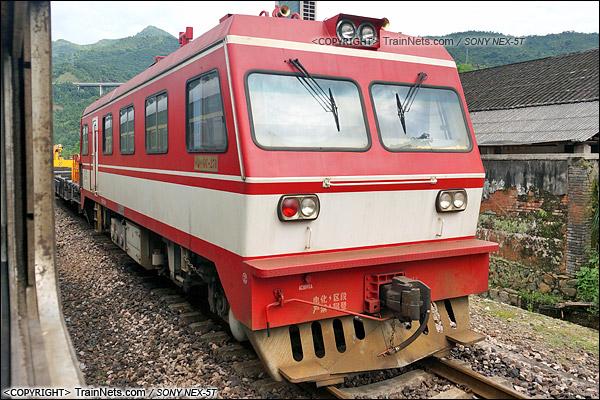 2014年5月。成昆线。秦岭GC-270型轨道车。(DSC00966-140524/火车仔)