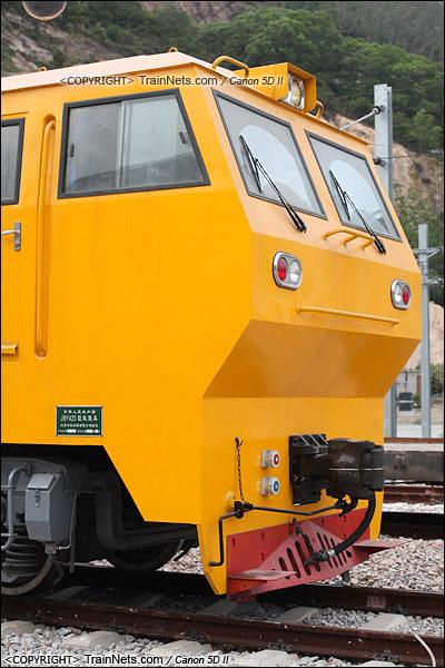 2011年6月。配属深圳地铁二号线的JMY420型轨道车。(IMG-2469-110610)