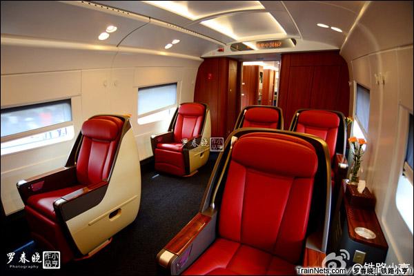 2015年6月30日。北京。长客厂生产的中国标准动车组,编号CRH-0305。商务座。(图/罗春晓)