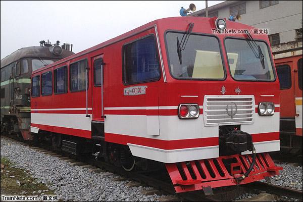 2014年2月。广东韶关。秦岭GC170-2型轨道车。(图/戴文炜)