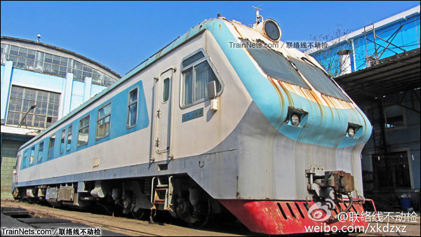 配属武汉铁路局的金鹰JYA-8型安全监察车。(图/联络线不动检)
