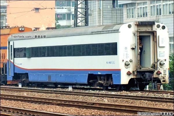 2015年5月。广州。配属广铁广段的WX25T型轨检车(160km/h)。(图/香港总督)