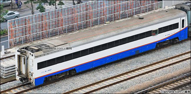 2015年5月。配属广铁广段的WX25T型轨检车(160km/h)。(图/杨利)