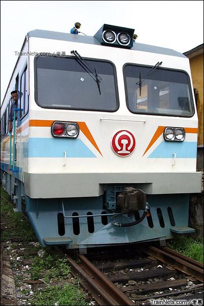 2005年。配属广东三茂铁路来的GCS220型轨道车。(图/老愚)