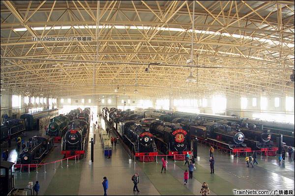 位于北京的中国铁道博物馆。(图/广铁德段)