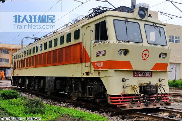 2015年9月。SS7B型电力机车。(图/卜三力CAR)