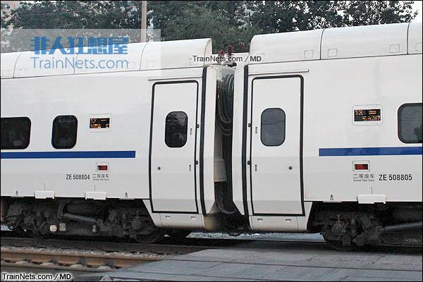 2015年8月。CRH5A型动车组。(图/MD)