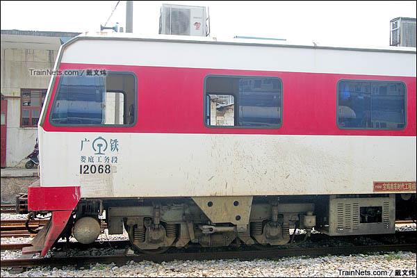 2015年6月。秦岭GC-270型轨道车。(图/戴文炜)