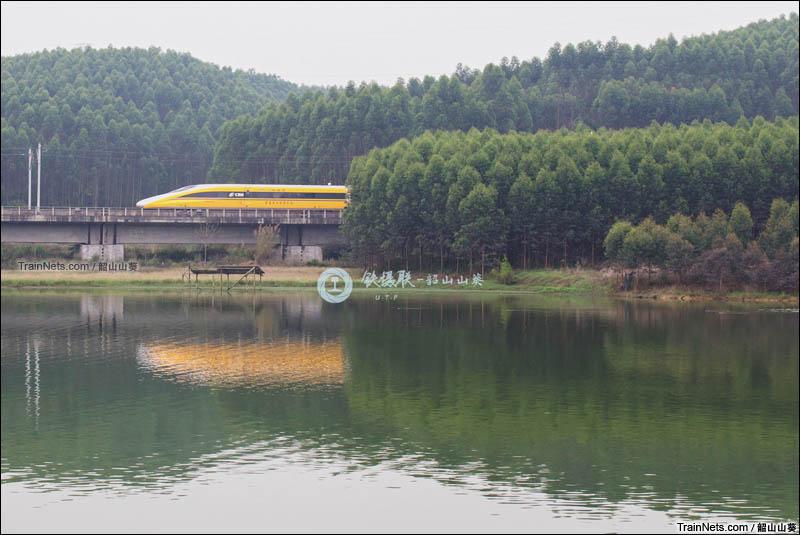 2016年3月19日。衡柳线。CRH380AJ担当DJ35次。(图/韶山山葵)