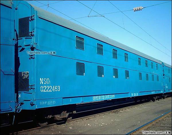 NSQ1型双层汽车运输车。(图/王旭)