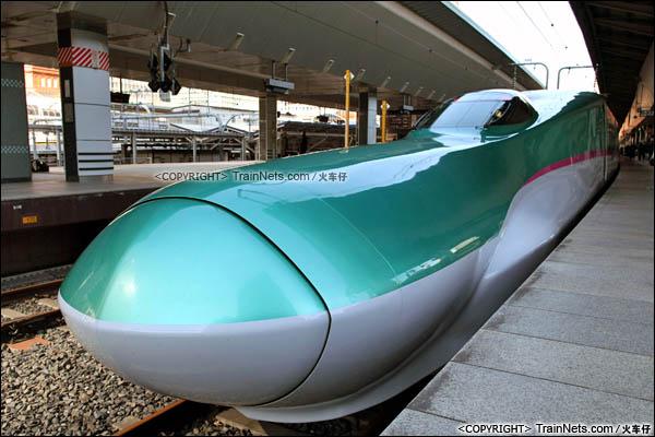 2012年2月。日本东京站。E5系新干线列车。(图/火车仔)