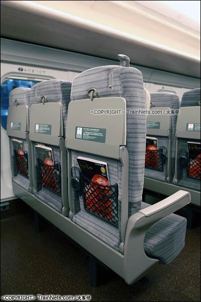 2012年2月。日本。E5系新干线列车,普通客室。(图/火车仔)