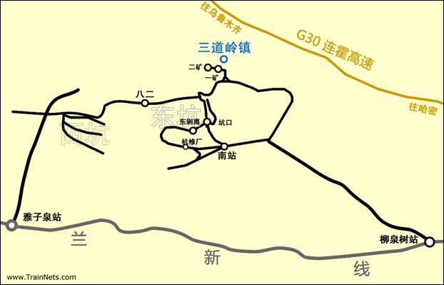sandaoling-map