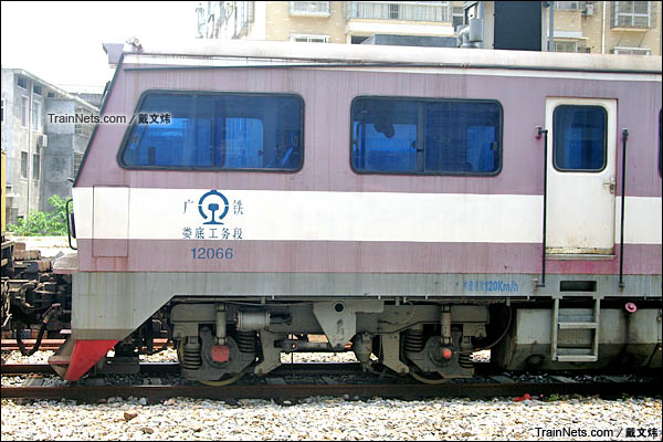 2015年6月。JY290型轨道车。(图/戴文炜)