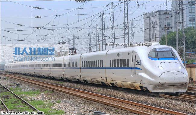 2015年7月。北京。CRH2E型卧铺动车组。(图/8K-140)