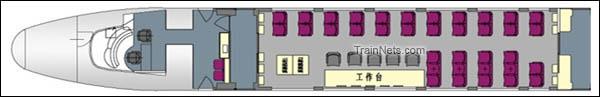CRH2-010A综合检测车。ZY201001车(1号车)。(图/青岛四方)