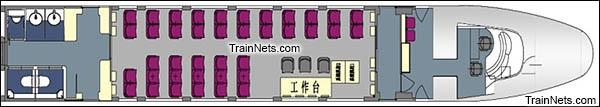 CRH2-010A综合检测车。ZY201000车(8号车)。(图/青岛四方)