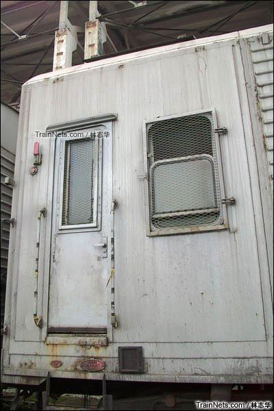 广州机保段。B10B型机械保温车。押运室。(图/林志华)