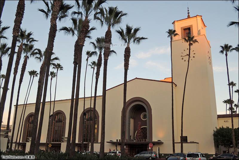 洛杉矶联合车站西站房。