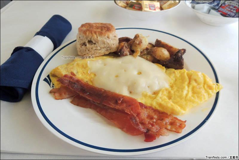 典型的美式早餐