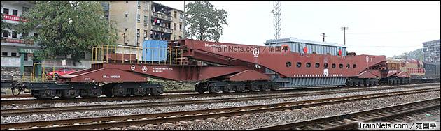 2015年11月。衡阳。DK36A型落下孔车。(图/范国平)