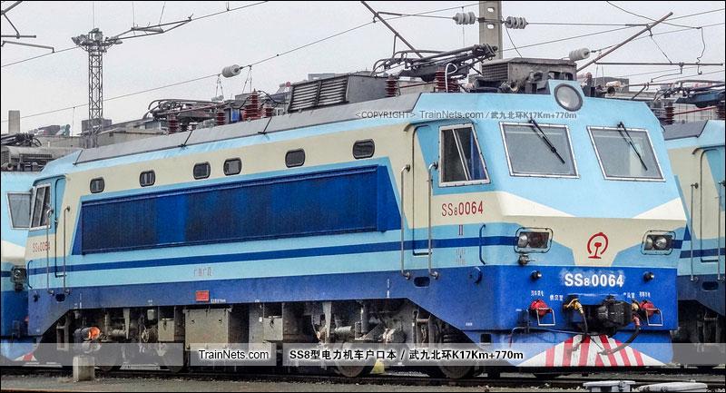 2014年11月24日。武客机。SS8-0064。(图/武九北环K17Km+770m)