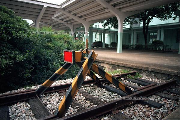 2012年8月25日。韶山火车站的尽头。(D4515/火车仔)